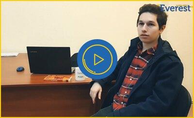 Ukrayna'da Üniversite Eğitimine Başlayan Öğrencimiz