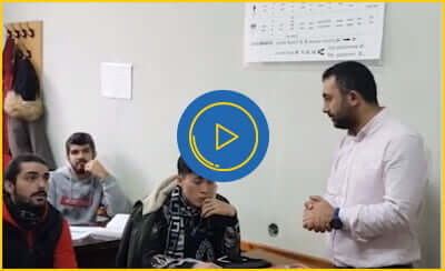 Ukrayna'da Rusça Hazırlık Eğitimi Alan Öğrencilerimizin Dersine Misafir Olarak Katıldık